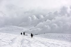 Mt. Asahidake, Hokkaido, Japan Stock Image