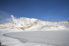 Mt Asahidake Stock Photo