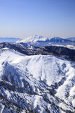 Mt. Asama in winter Stock Images