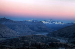 Mt Aspiring, New Zealand. South Island stock images