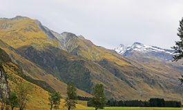 Mt Aspiring NP. Mt Aspiring National Park, New Zealand stock photos