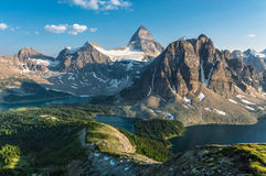 Mt. Assiniboine Royalty Free Stock Images