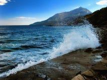 Mt Athos 库存图片