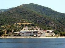 Mt Athos Monastery Stock Images