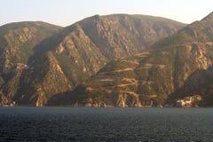 Mt Athos Monastries. Royalty Free Stock Photo