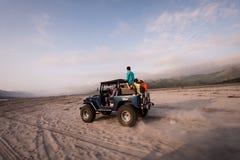Mt Aventure de Pinatubo Photographie stock