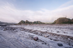 Mt Aventure de Pinatubo Images stock
