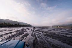 Mt Aventure de Pinatubo Image libre de droits