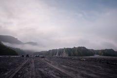 Mt Aventure de Pinatubo Photos libres de droits