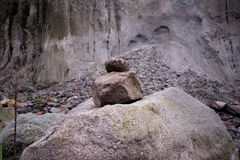 Mt Aventure de Pinatubo Images libres de droits