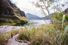 Mt Aventure de Pinatubo Photo stock
