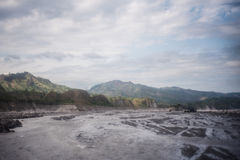 Mt Aventure de Pinatubo Photographie stock libre de droits