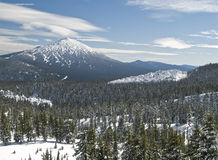Mt. Bachelor Royalty Free Stock Photography