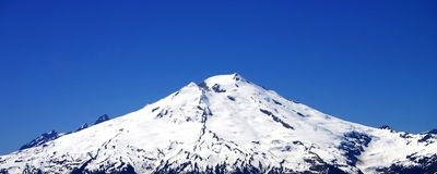 Mt. Baker Royalty Free Stock Photography