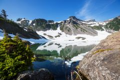 Mt Baker Area Royalty Free Stock Photo