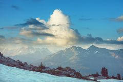 Mt Baker Area Royalty Free Stock Image