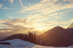 Mt.Baker Area Royalty Free Stock Images