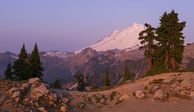 Mt Baker from Artist Point Royalty Free Stock Image