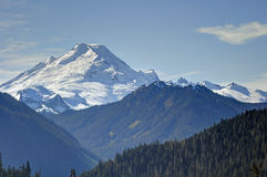 Mt. Baker at Autumn time Royalty Free Stock Photography