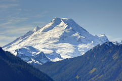 Mt. Baker in Autumn time Royalty Free Stock Image