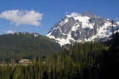 Mt. Baker brengt onder Royalty-vrije Stock Foto's