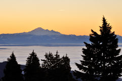 Mt. baker at dawn Royalty Free Stock Photography