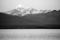 Mt Baker North Cascade Mountains Puget Sound Washington Stock Image