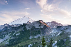 Mt. Baker and Ptarmigan Ridge Royalty Free Stock Photography