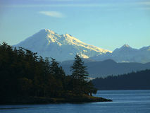 Mt Baker & San Juan Islands Royalty Free Stock Photo