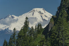 Mt. Baker from Sauk Mountain Royalty Free Stock Photography