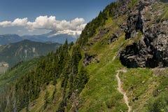 Mt. Baker from Sauk Mountain Stock Images