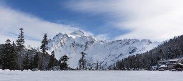 Mt Baker Ski Resort Royalty Free Stock Images