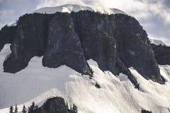 MT Baker Snoqualmie National Forest van lijstmoutain royalty-vrije stock afbeeldingen
