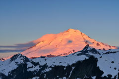 Mt. Baker Sunrise Stock Photography