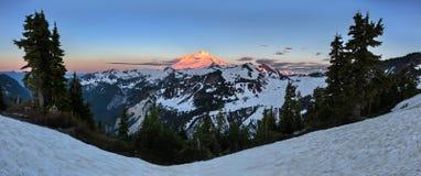 Mt Baker sunrise Royalty Free Stock Image