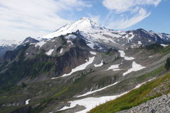 Mt. Baker in Washington. State, USA Stock Image