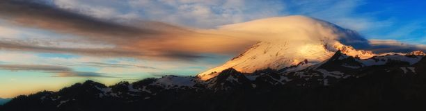 Mt Baker, Washington State Image stock