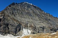 Mt Balmhorn, alpi di Bernese, Svizzera Immagine Stock Libera da Diritti