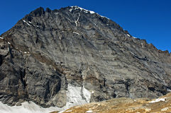 Mt Balmhorn, Bernese Alps, Switzerland Royalty Free Stock Image