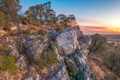 Mt Barker Summit. A view over rural South Australia Royalty Free Stock Photography