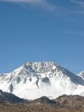 Mt Basin. Sierra Nevada, Ca, USA stock image
