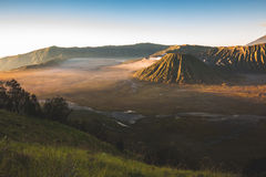 Mt.Batok and Bromo Royalty Free Stock Photos