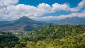 Mt Batur в Бали стоковое фото rf