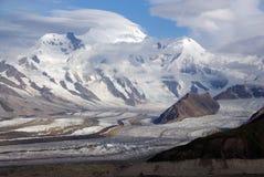 Mt. Blackburn von der Donoho Spitze Lizenzfreies Stockfoto