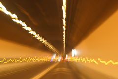 Mt.Blanc tunnel Royalty Free Stock Photo
