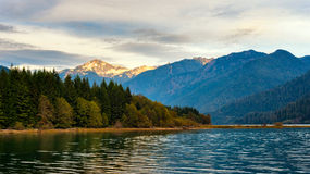 Mt Blum and Baker Lake Stock Photography