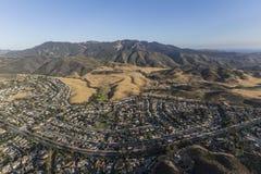 Mt Boney and Newbury Park California Aerial Royalty Free Stock Image