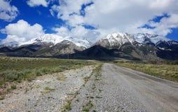 Mt Borah - Айдахо стоковая фотография