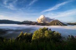 MT Bromo印度尼西亚 免版税库存照片