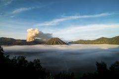 MT Bromo印度尼西亚 免版税库存图片